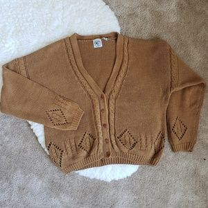 Modern Essentials Heavy Slouchy Cardigan Sweater